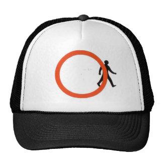 Cross Prohibition Trucker Hat
