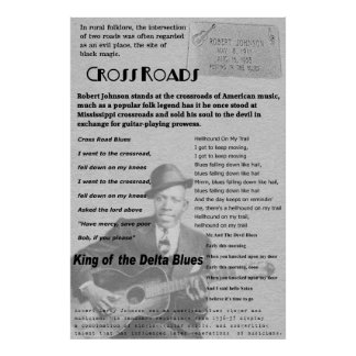 Cross Roads Remembering Robert Johnson Poster