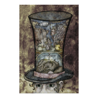 Cross Sectional Top Hat T Poster