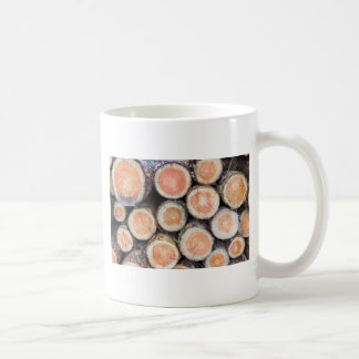 -Cross sections of pine trunks Coffee Mug