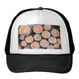 -Cross sections of pine trunks Trucker Hat