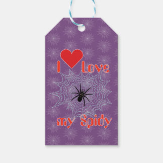 Cross spider in the net gift supporter pack of gift tags