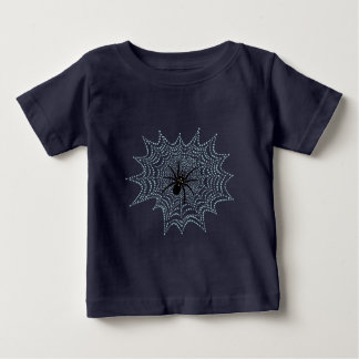 Cross spider in the net shirt