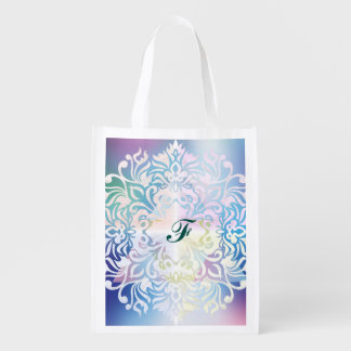 Cross,spiritual art,mandala,healing,energy,chakra, grocery bag
