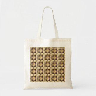 Cross Stitch Budget Tote Bag