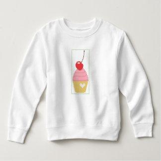 Cross stitch cherry cupcake tshirt