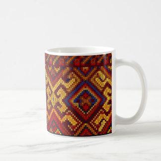 Cross Stitch Pattern Mug