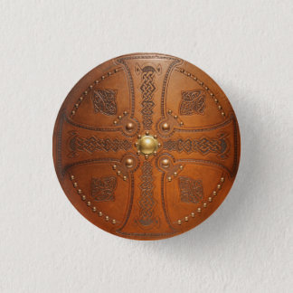 Cross Targe 1 Inch Round Button