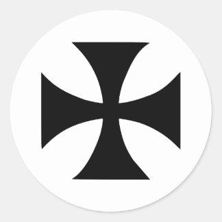 Cross Templar Stickers