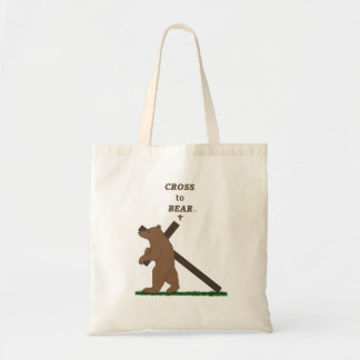 Cross to Bear (tote bag) Tote Bag