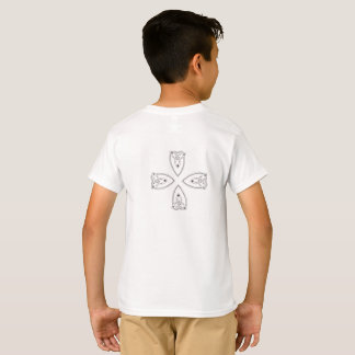 Cross Trinity Heart T-Shirt