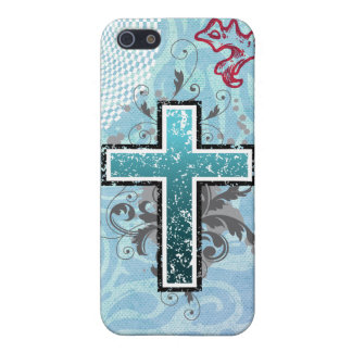 Cross turqouise solid iPhone 5 covers