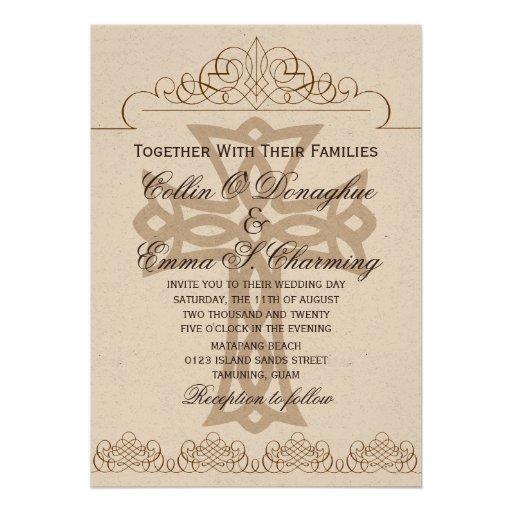 Cross Wedding Invitations