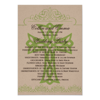 Cross Wedding Programs