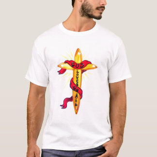 Cross With Banner T-Shirt