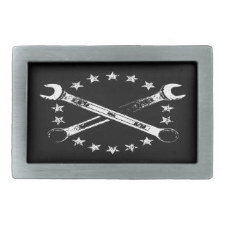 Cross Wrenches 517 Rectangular Belt Buckle