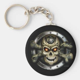 Crossbones Keychain