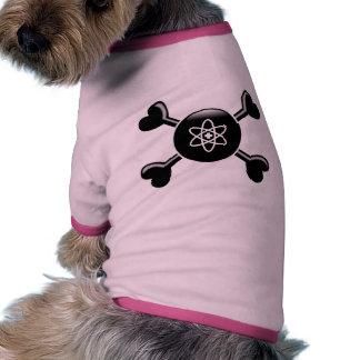 Crossbones Nuclear Medicine Dog Tshirt