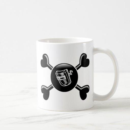 Crossbones Welding Mugs