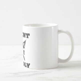 Crossed Arrows Silent But Deadly 5 Coffee Mug