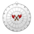 Crossed Axes Dartboard