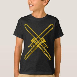 "Crossed ""Brass"" Trombones T-Shirt"