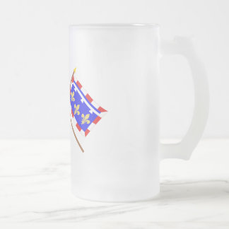 Crossed flags of France and Centre Mugs
