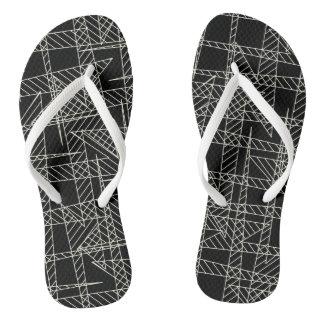 Crossed lines flip flops