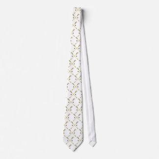 Crossed Ojibwe Sticks Tie