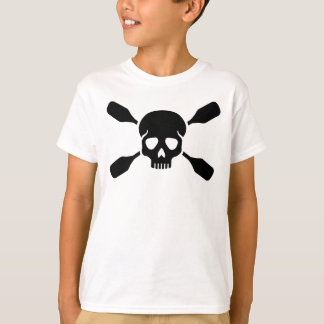 Crossed paddles skull T-Shirt