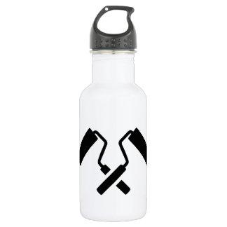 Crossed painter rolls 532 ml water bottle