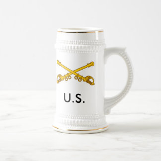 crossed sabers, U.S. Beer Stein