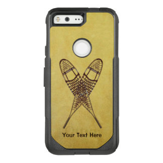 Crossed Snowshoes OtterBox Commuter Google Pixel Case