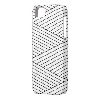 Crossed Stripped Iphone 5 marries iPhone 5 Cover