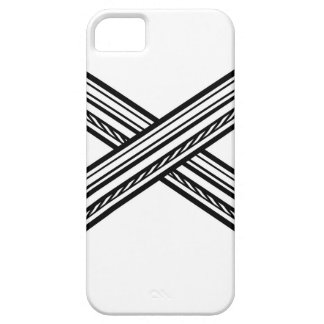 Crossed Swords Retro Style Case For The iPhone 5