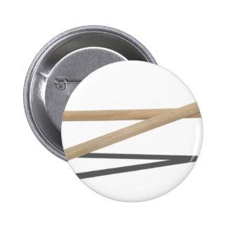 CrossedDrumSticks042211 2 Inch Round Button