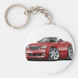 Crossfire Maroon Convertible Keychain