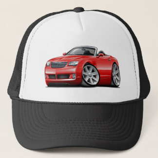 Crossfire Red Convertible Trucker Hat