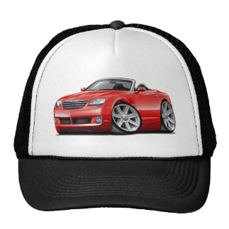 Crossfire Red Convertible Trucker Hat