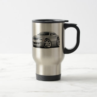 Crossfire Silver Car Travel Mug