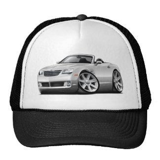 Crossfire White Convertible Trucker Hat