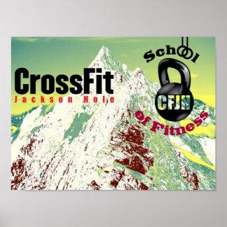 CrossFit Jackson Hole Poster