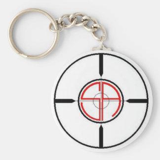 Crosshairs Keychain