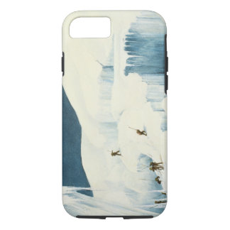 Crossing a Ravine, from 'A Narrative of an Ascent iPhone 7 Case