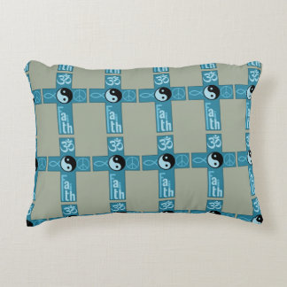 Crossing Faith Accent Pillow