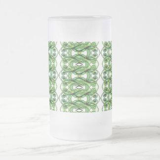 Crossing Green Lines Mug
