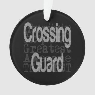 Crossing Guard Extraordinaire Ornament