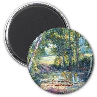 Crossing Over 2 Inch Round Magnet