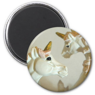 Crossing Paths I 2 Inch Round Magnet
