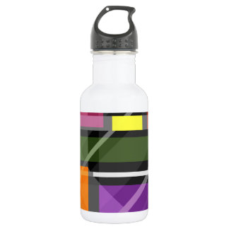 Crossing Shapes 532 Ml Water Bottle